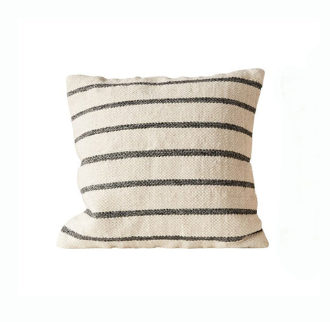 Striped Wool Woven Pillow - East Arbor Goods