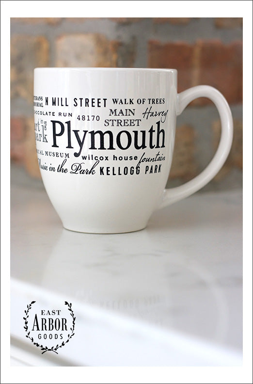 Plymouth Mug - East Arbor Goods
