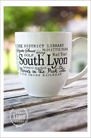 South Lyon Mug - East Arbor Goods