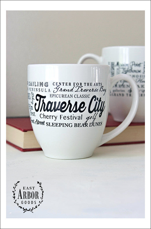 Traverse City Mug - East Arbor Goods