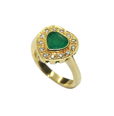 Emerald Love - Ring - Interjuwel