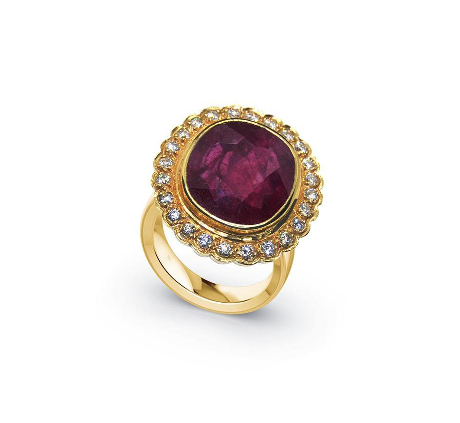 Red Passion - Ring - Interjuwel