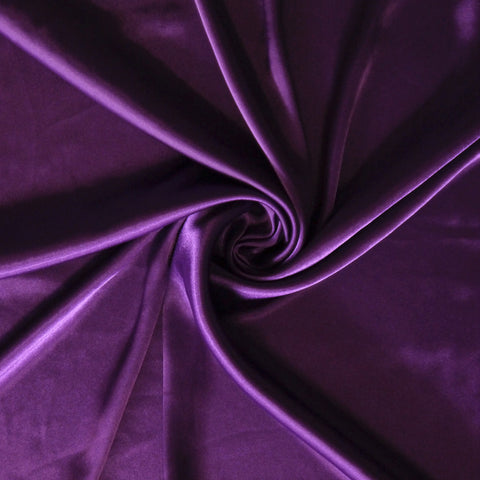 Stretch Satin - Purple