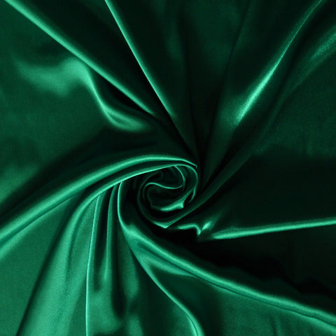 Satin charmeuse - Emerald