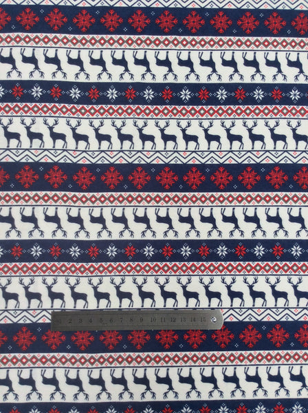 Printed Flannelette - Winter Deer