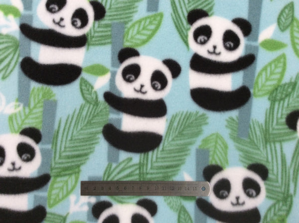 Printed Polar Fleece - Panda