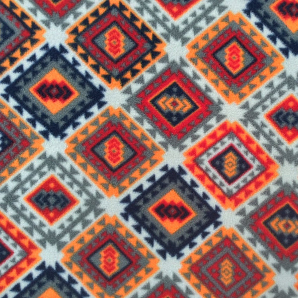 Printed Polar Fleece - Morocco
