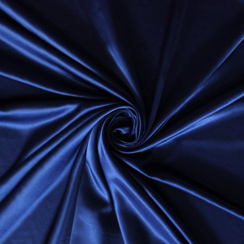 Satin charmeuse - Navy