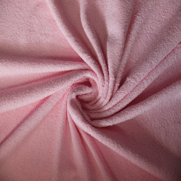 Toweling - Pale pink
