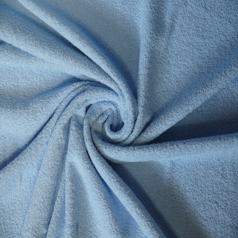 Toweling - Pale Blue