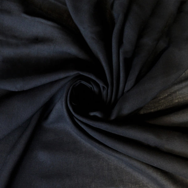 Rayon Voile - Black