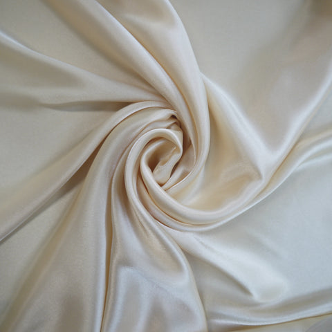 Satin charmeuse - Ivory