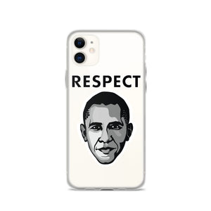 Open image in slideshow, Cartoon Obama iPhone Case - Respect My Voice