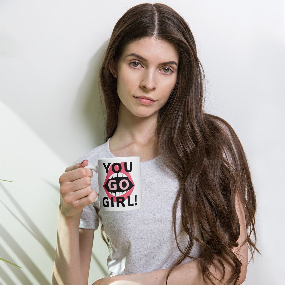 You Go Girl! Coffee Mug - Respect My Voice