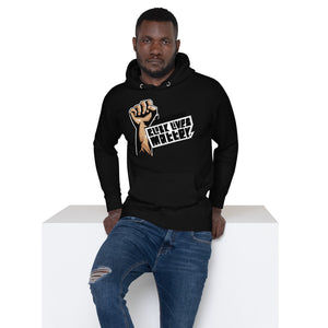 Open image in slideshow, Premium BLM Unisex Hoodie - Respect My Voice