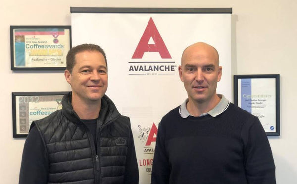 Avalanche Founders Paul Tobin and Stefan Marusich