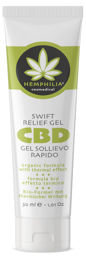 Swift relief gel with thermal action