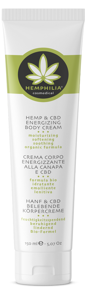 Moisturizing energizing body cream