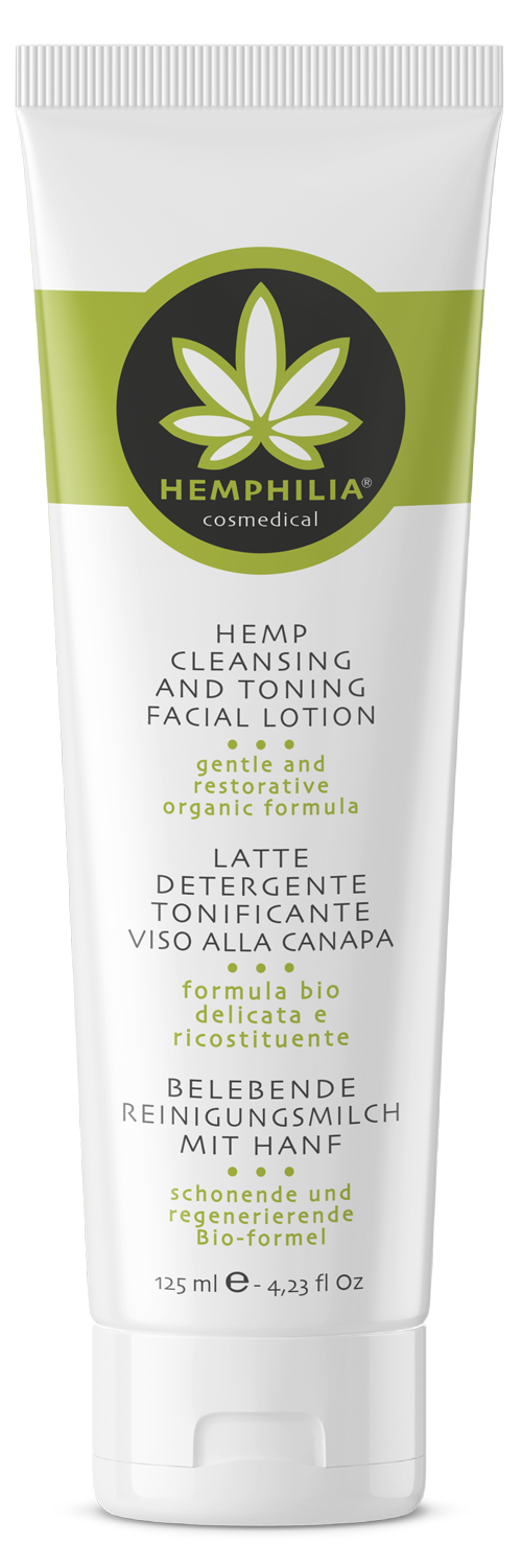 Cleansing and toning facial lotion
