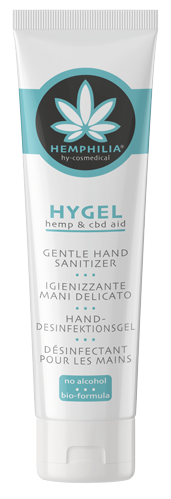 Gentle hand sanitizer