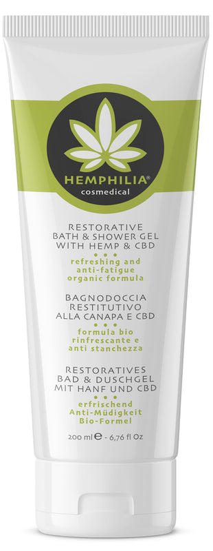 Restorative shower gel