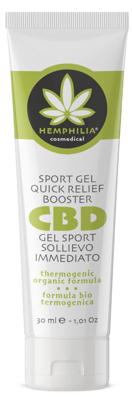 Sport gel quick relief booster