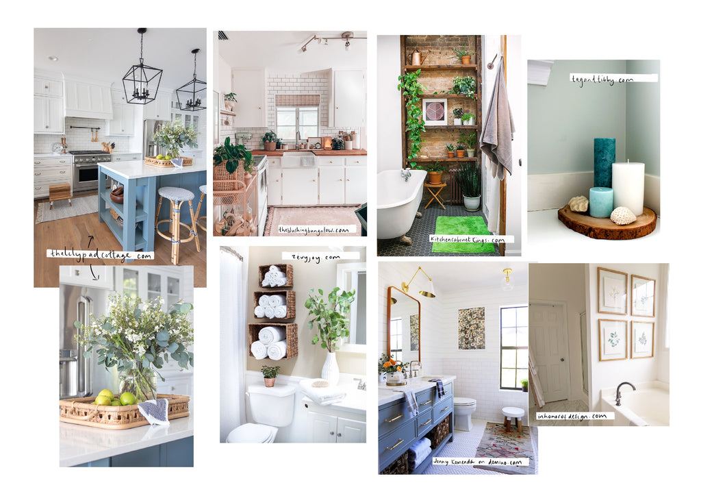 Bathroom and kitchen pictures, scandinavian style