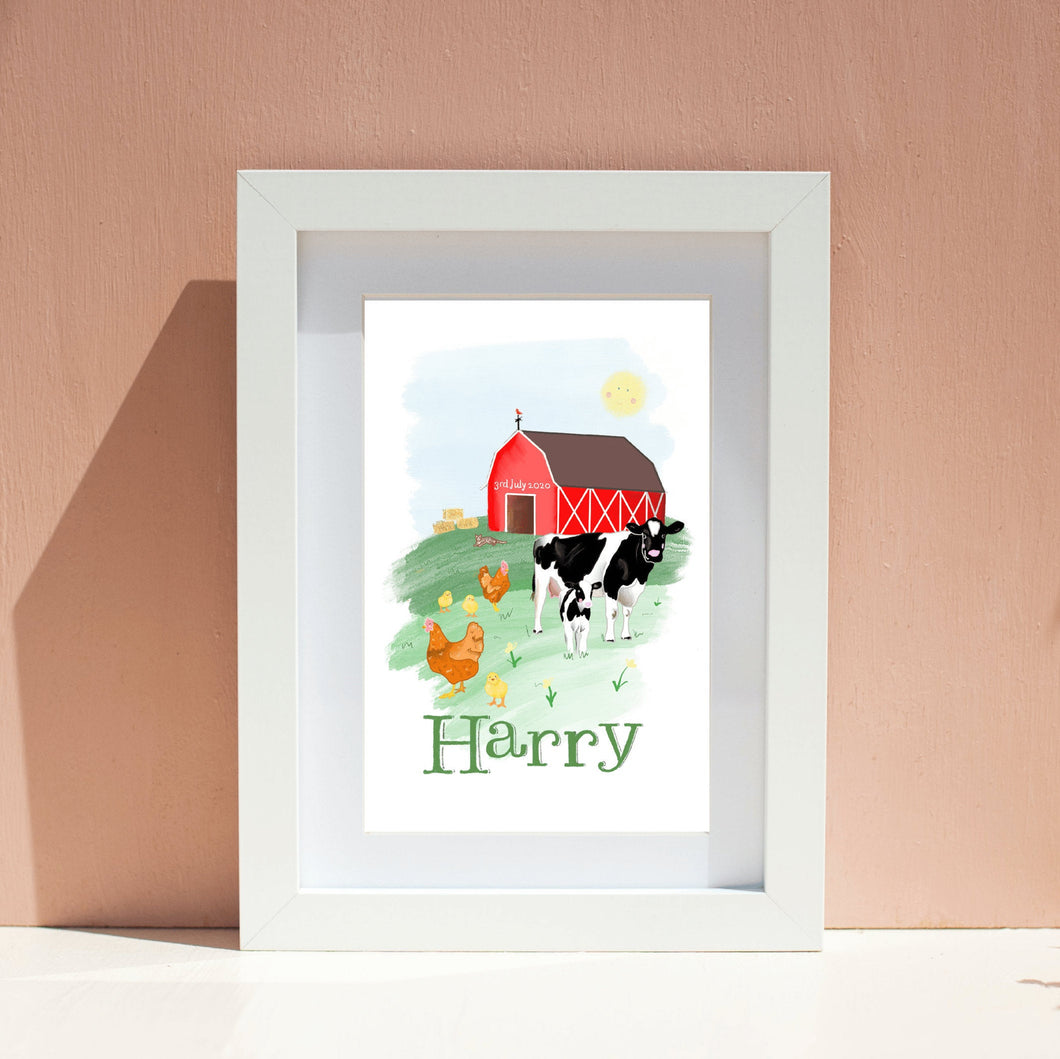 Farm Yard Animal Nursery Wall Art
