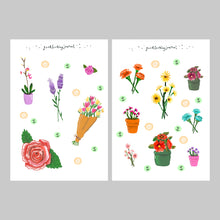 Load image into Gallery viewer, Flower Stickers