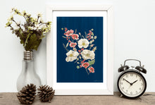 Load image into Gallery viewer, Winter Flowers Print
