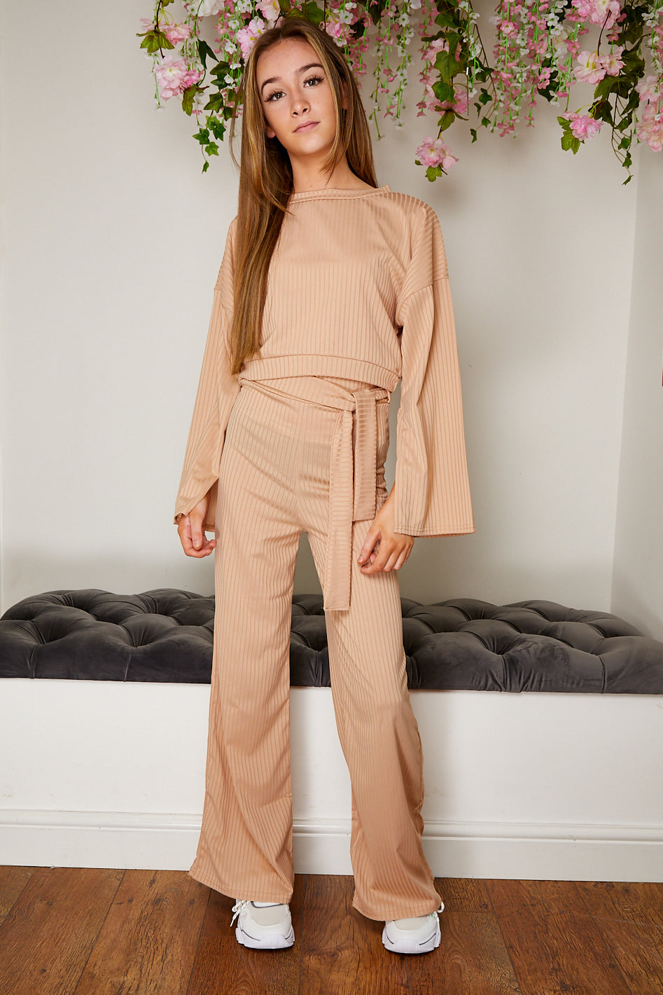 Split sleeve trouser and co ord set
