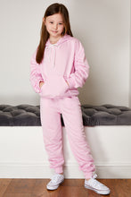 Load image into Gallery viewer, Mini Attire ruched jogsuit PINK