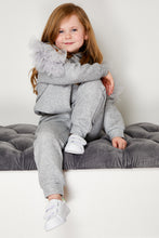 Load image into Gallery viewer, Mini Attire Twirl jogsuit GREY