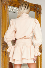 Load image into Gallery viewer, ORIELA skirt co-ord set CREAM