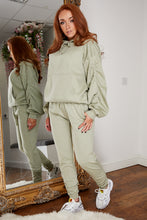 Load image into Gallery viewer, Ruched oversized jog suit MINT