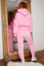 Load image into Gallery viewer, Ruched jog suit BUBBLE GUM PINK