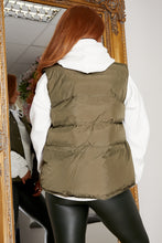Load image into Gallery viewer, Cargo gillet KHAKI