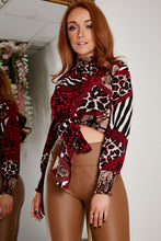 Load image into Gallery viewer, Succi blouse RED