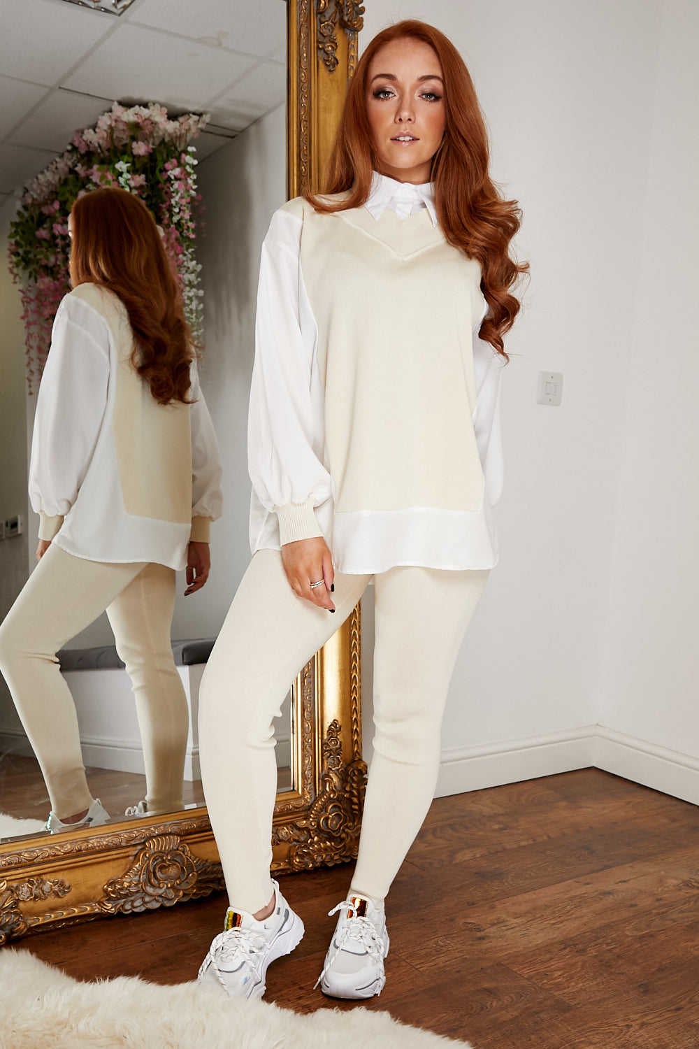 Pistachio lounge suit CREAM