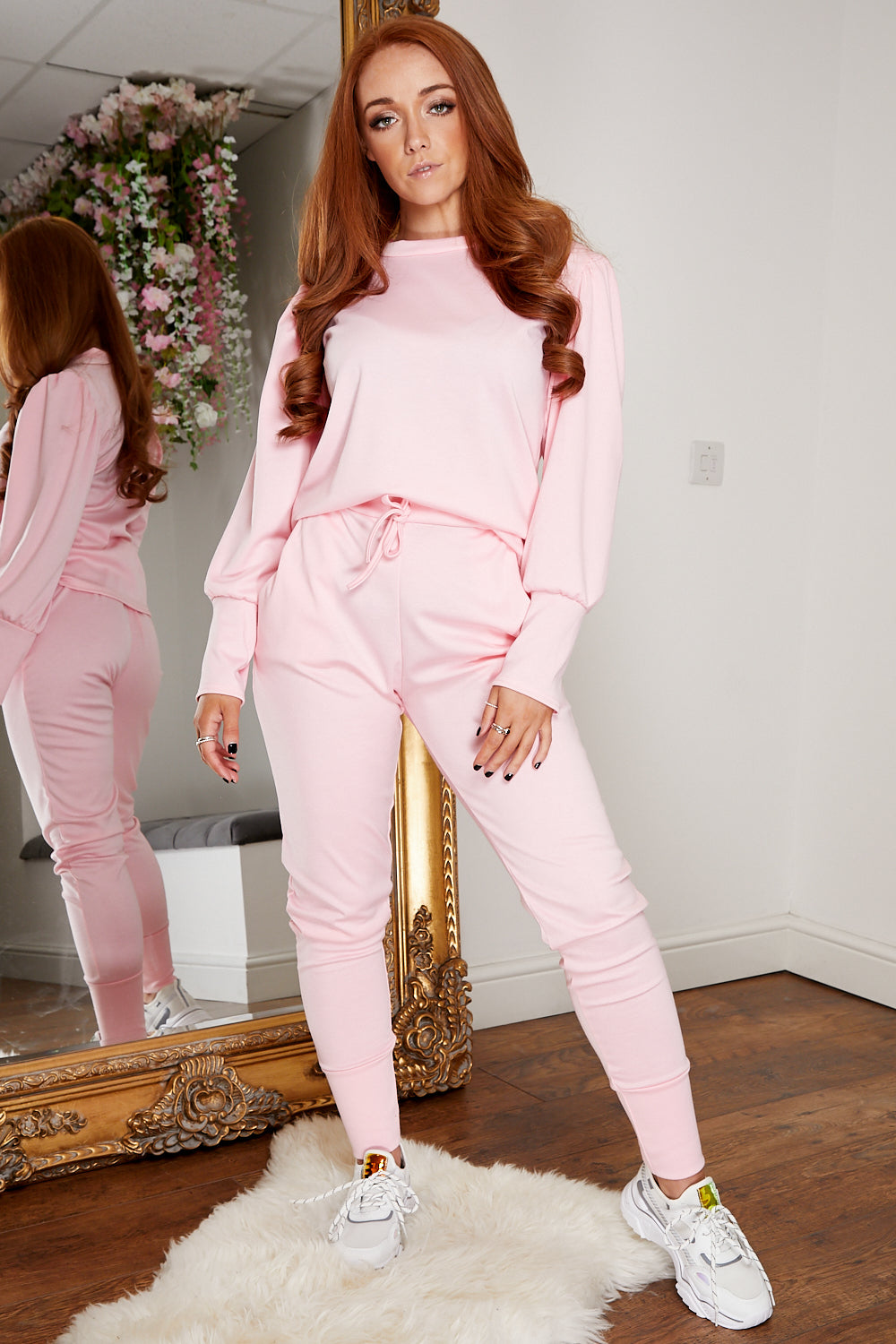 Sweetheart jogsuit PINK