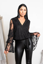 Load image into Gallery viewer, Milana blouse black