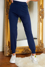 Load image into Gallery viewer, Soft knit jogger NAVY