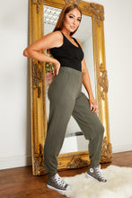Load image into Gallery viewer, Soft knit jogger KHAKI