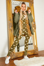Load image into Gallery viewer, Parker coat KHAKI/NATURAL
