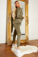 Load image into Gallery viewer, Everyday jog suit KHAKI