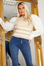 Load image into Gallery viewer, Arabella over sized sleeve top