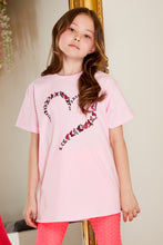 Load image into Gallery viewer, Mini Attire love t shirt PINK