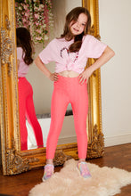 Load image into Gallery viewer, Mini Attire honeycomb leggings PINK