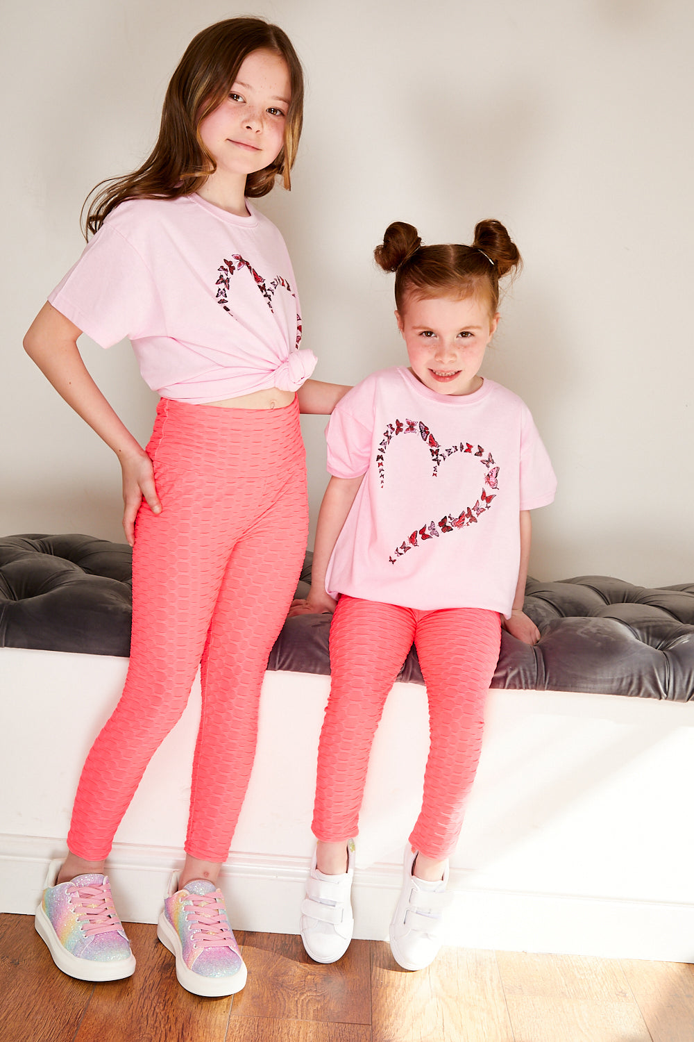 Mini Attire love t shirt PINK