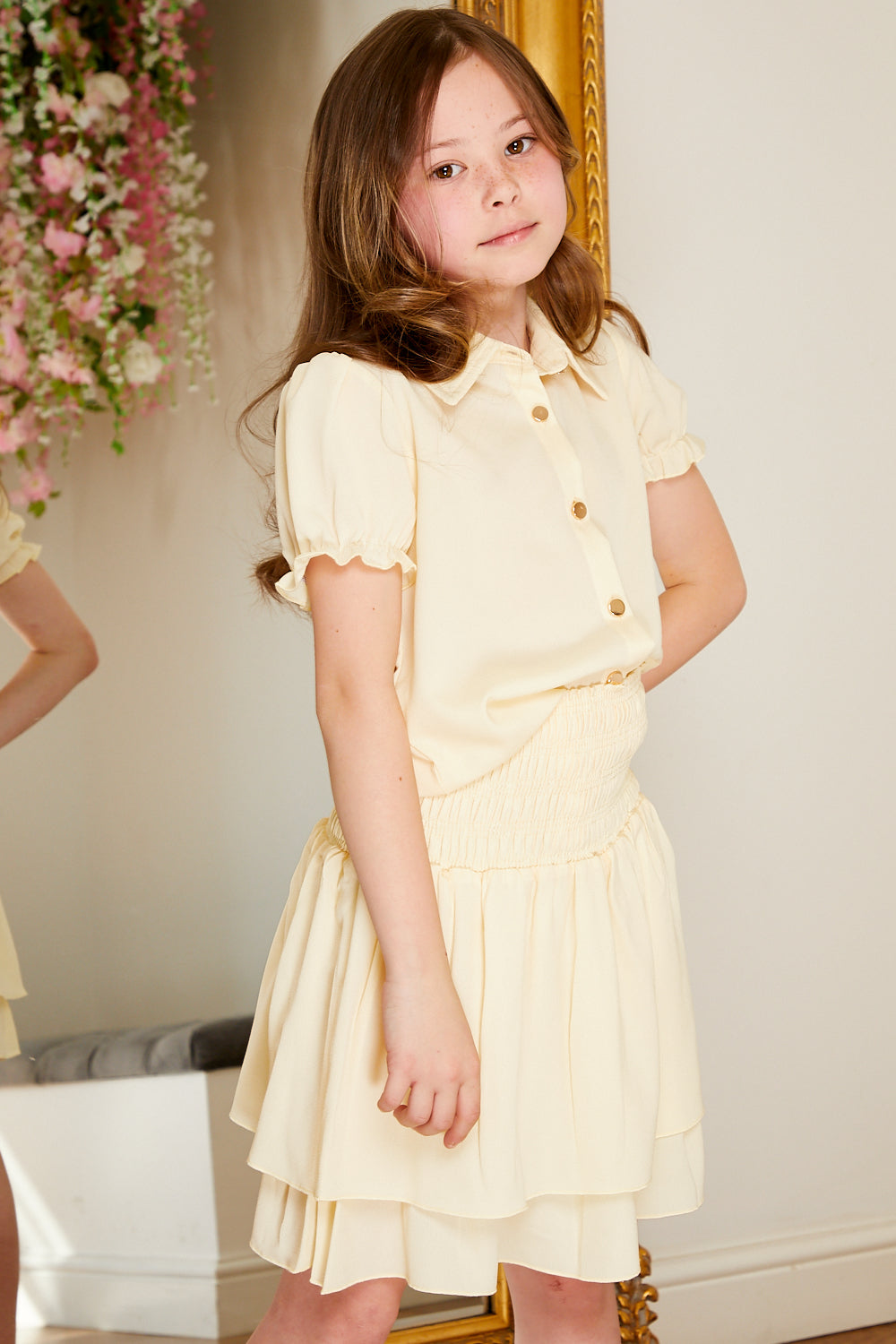 Mini Attire Alesia set CREAM